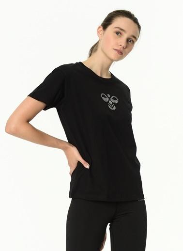 Hummel Kadın Tişört Poppy 911213-2001 Siyah